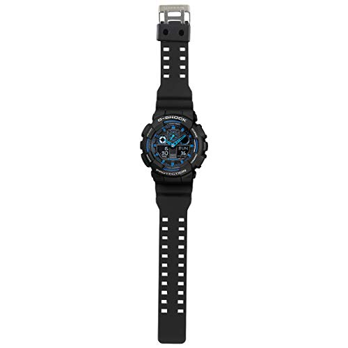 CASIO(カシオ)腕時計G-SHOCK(Gショック)GA-100-1A2海外モデル[並行輸入品]