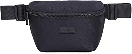 HotStyle 7211s Cute Small Fanny Pack Waist Purse Hip Bag for Everyday, Black