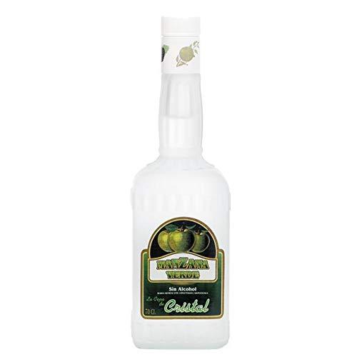 Licor de Manzana Verde Sin Alcohol