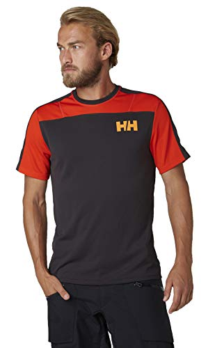 Helly Hansen HH LIFA Active Light T-Shirt à Manches Courtes pour Homme S ébène