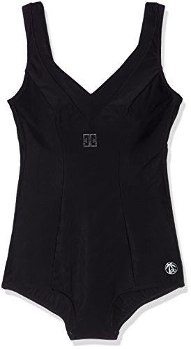 Palm Beach Damen Badeanzüge Nos Halbcorsage ,Schwarz(1000),42 (Manufacturer Size:42D)