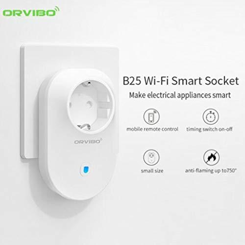 Casa Inteligente,TwoCC Wifi Smart Orvibo Aplicación de Teléfono Inalámbrico Control Remoto Enchufe Toma de Corriente
