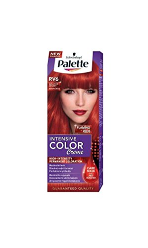 Palette Intensive Color Creme RV6 Scarlet Red Permanent Hair Color