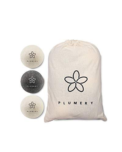 Kit 2 en 1 de bolas para secadora de 2ª generación para colada blanca y de color natural, ecológico, hipoalergénico, antiarrugas, aceite esencial para atrapar el pelo
