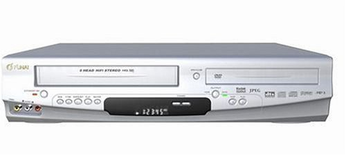 Funai DP-VR 6630 DVD-Player/VHS-Rekorder-Kombination Silber