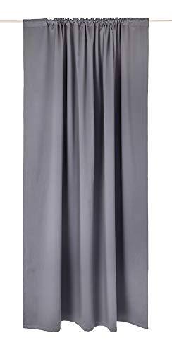 Vallila Pimari Black out - Cortina (140 x 250 cm, 250 x 140 cm), Color Gris