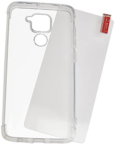 Kit Capa Anti Impacto e Película De Vidro Xiaomi Redmi Note 9 (NÃO SERVE NO NOTE 9S)