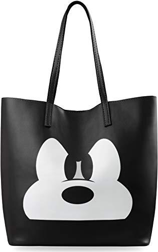 Shopper junge Dame Damentasche City Style Miki Maus schwarz