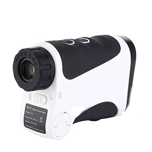 gmjgcjy Laser Entfernungsmesser,Lasermessgerät Mit 7-Facher Vergrößerung Abstandsmessung, Geschwindigkeitsmessung, Wasserdicht Schutzklasse Ip54, Für Golf, Jagd,Rangefinder