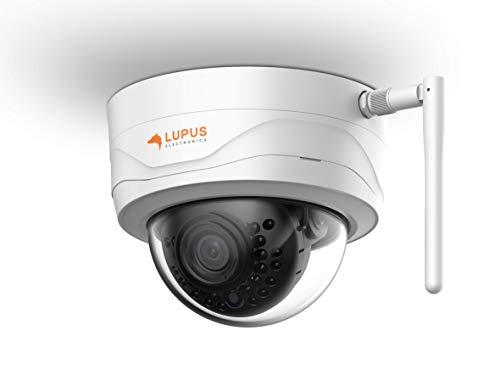 LUPUS 3MP WLAN IP Kamera für draußen, SD Slot, 100°, Nachtsicht, Bewegungserkennung, Ios und Android App, Integrierbar in Smarthome Alarmanlagen, inkl. Verwaltungssoftware