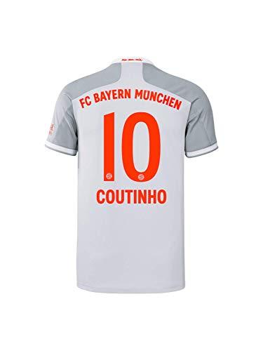 FC Bayern München Kinder Away-Trikot Auswärts Saison 2020/21, Gr. 140, Philippe Coutinho