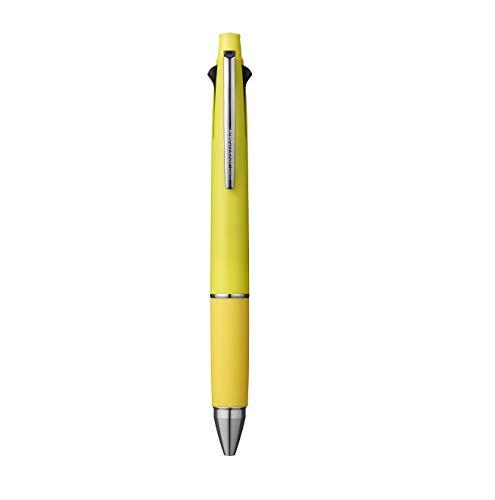三菱鉛筆 ジェットストリーム4&1 0.5mm レモンイエロー 多機能ペン MSXE5-1000-05.28