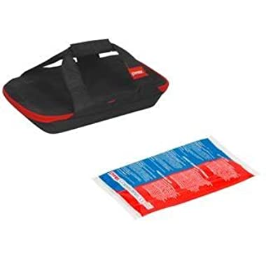 Pyrex 3qt Portable Black Bag with Hot/Cold Pack (no dish)
