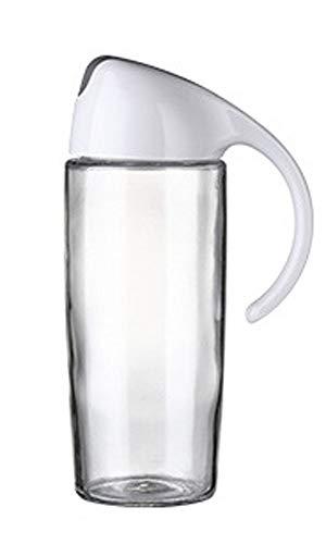 Aaprk Dispensador de aceite de oliva con tapa automática, vidrio PP duradero antigoteo, aceite y vinagre, bote de crucero y dispensador para salsa de soja, aceite de coco, vino de cocina 500 ml