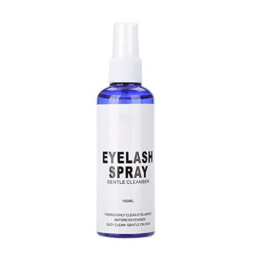 Limpiador de espuma para pestañas profesional, Limpiador de extensión de pestañas para ojos para champú para ojos y pestañas - 100ML