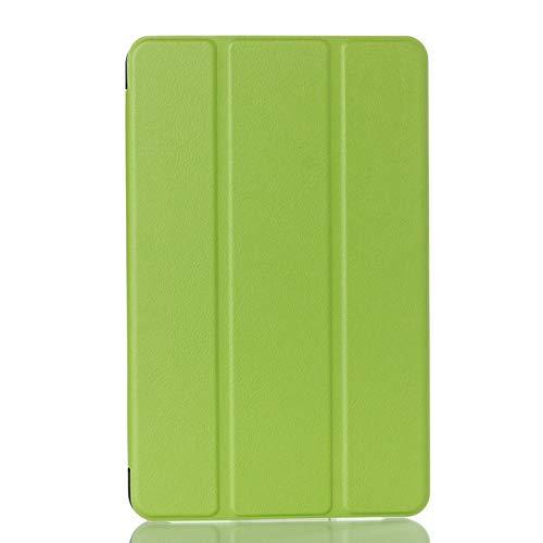 Skhawen Caso for Samsung Galaxy Tab E 9.6 T561, Cubierta Ultra Delgada for Galaxy Tab e SM T560, MAGNEITC CUERA Funda Capa (Color : Verde)