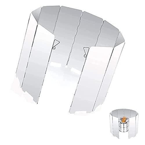 Exbrith 10 Stück Faltbar Aluminium...