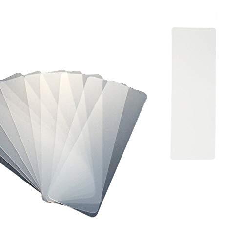 YouU Tarjetas Washi, 25 Unid. Cinta de PVC Tablero de muestra Tablero de cinta de papel, 5x15cm