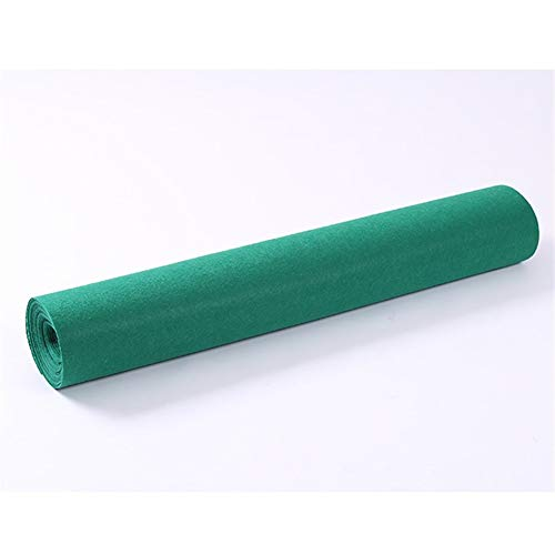 Alfombra Runner Alfombra For Pasillo Verde (Tamaño Puede Ser Personalizado) LEBAO (Color...