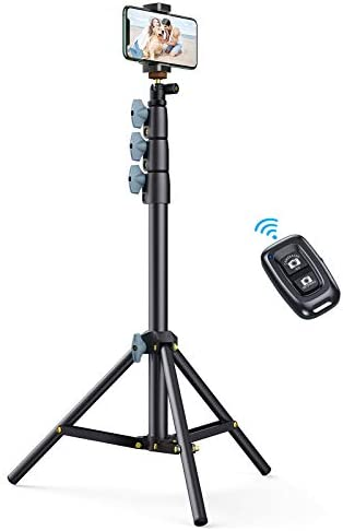 Andobil 60 Phone Tripod Stand with Bluetooth Remote Universal Selfie Stick Tripod Portable Cell product image