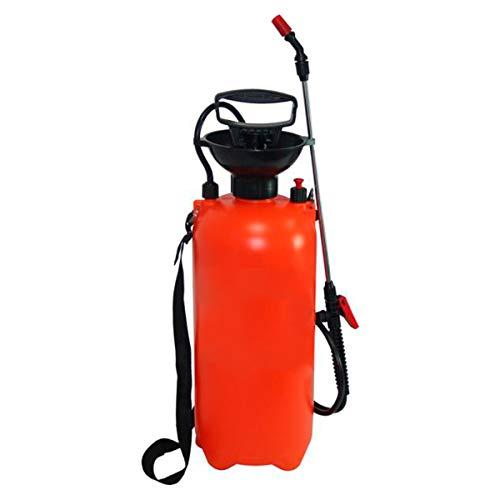 RZ TOOLS Pulverizador Fumigador a Presión Mochila 8 litros Manual con Lanza para Limpieza, Jardín y Hogar - Correa Ajustable