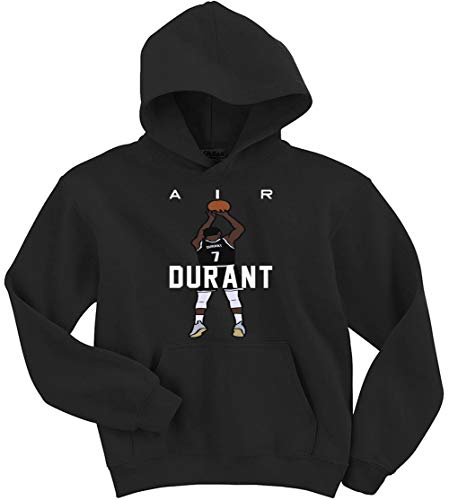 Black Brooklyn Air Durant Hooded Sweatshirt Youth