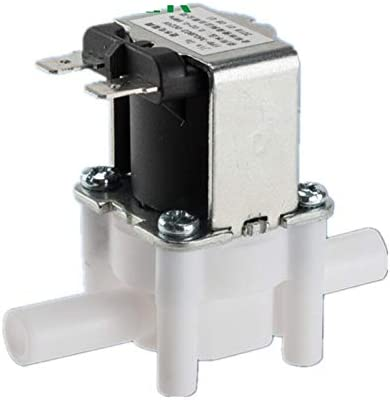 Magneetventiel klep 14 38 pijpensteel Quick Conntect RO Water Omgekeerde Osmose System Electric Plastic Magneetventiel normaal gesloten Elektromagnetische accessoires