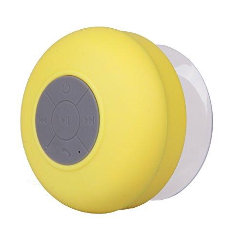NK AB3009BAM - NK-altoparlante, portatile, Bluetooth 3,0 (resist fandonia al agua manos y batteria, cuffie recargable) giallo