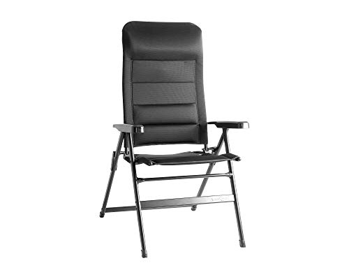 BRUNNER FRA601279 campingstoel aravel, zwart