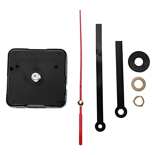 Beauneo Maquinaria Mecanismo Reloj Agujas Manualidad de Artesania AA Negro