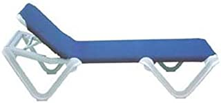 Grosfillex Nautical Sling Chaise - 99101006 (12 pack)