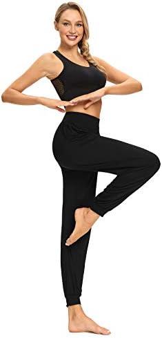Starlemon Harem Yoga Pants for Women Soft Loose Workout Sports Dance Pilates Pants Black XX product image