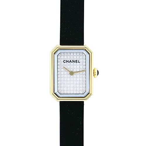 シャネル CHANEL プルミエール ヴェルヴェット H6126 全面ダイヤ文字盤 腕時計 レディース (W206997) [並行輸入品]
