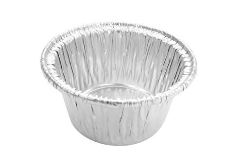 KitchenDance Disposable Aluminum Individual 2 Oz Foil Cups/ramekins. #S220 (100)