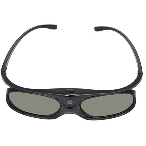 Copos, Andoer Projetor GL2100 Óculos 3D com obturador ativo DLP-Link recarregável para todos os projetores 3D DLP Optama Acer BenQ ViewSonic Sharp Dell