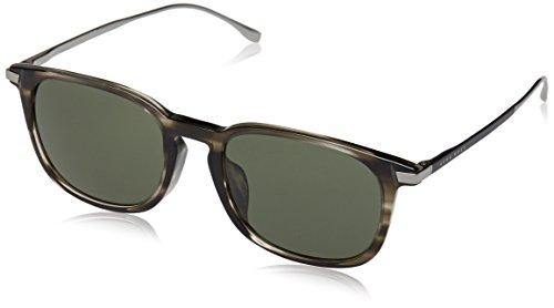 Hugo Boss Boss 0818/F/S 85 VQ9 Gafas de sol, Gris (Gryhvna Black/Grey Green), 53 Unisex-Adulto