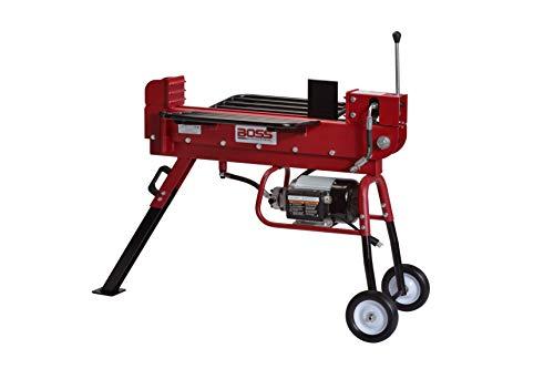 Boss Industrial ED10T20 Industrial Electric Log Splitter, 10-Ton