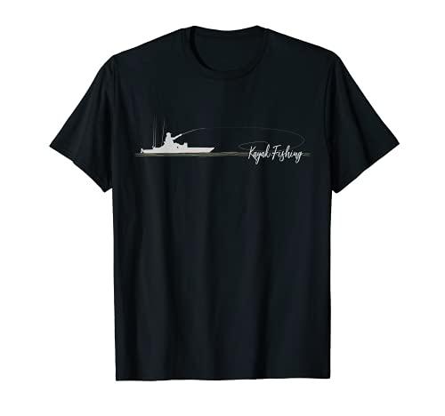 Pedal Drive Fishing Kayak Angler Bass Fisherman Kayaking T-Shirt
