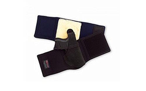 Galco Ankle Lite Holster Ruger LCP Kahr P380, Right Hand, Black