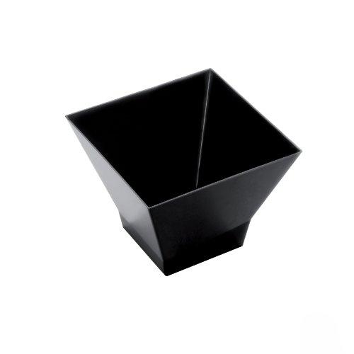 Wieldoppen van kunststof, middelgroot, 200 cm, 12 stuks, zwart