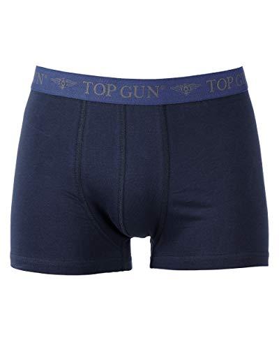 TOP GUN Boxer Shorts (2er Pack) dk.blau/grau Gr.L