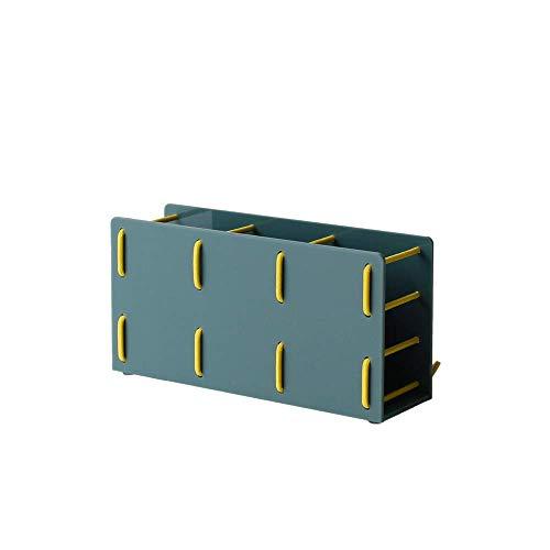 line-R SEW『PEN STAND』【ペンスタンド】【ペン立て】【卓上収納】 (Green & Yellow)