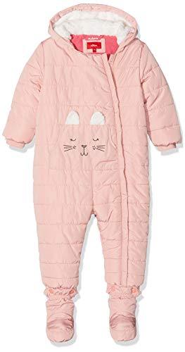 s.Oliver Baby-Mädchen 59.909.85.8870 Schneeanzug, Rosa (Dusty Pink 4261), (Herstellergröße: 62)