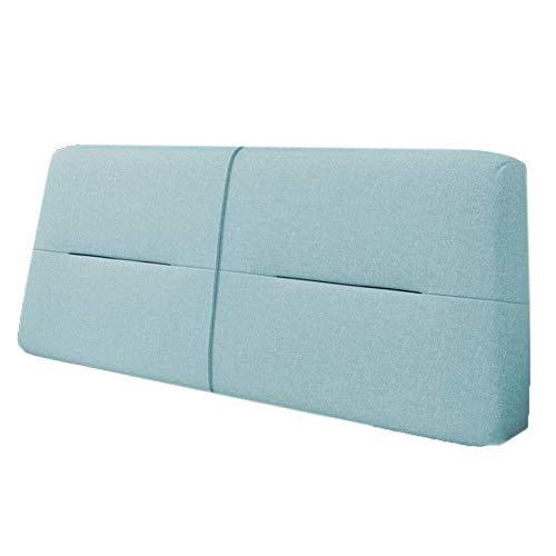 B-fengliu Weicher Kopfteil Kopfteil Kissen Kopf Cushion- Kopfteil for Bed Bunk Removable Bequem, weich und leicht zu reinigen (Color : A, Size : with headboard-120CM)