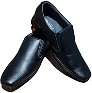 Safety Gold Leather Shoes 2302 (10)