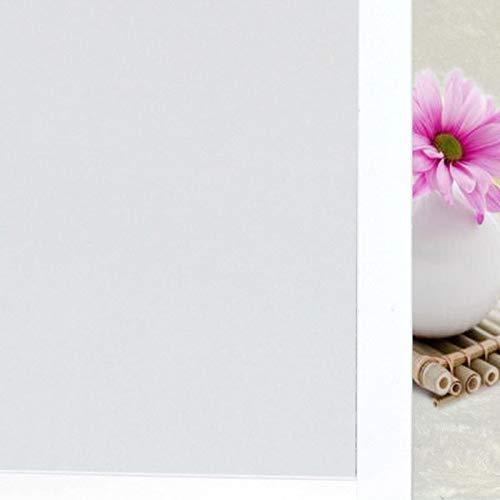 LMKJ Pegatina de Vidrio Esmerilado de PVC, película de Ventana sin Pegamento Impermeable, Pegatina de protección de privacidad, película de Vidrio Familiar A10 45x100cm