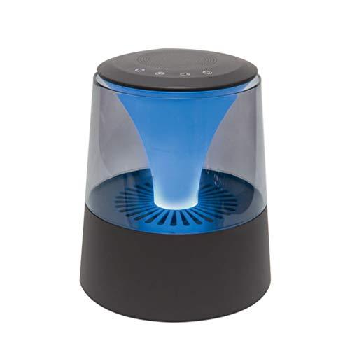 VBNM Luchtreiniger, echte HEPA-filter, bluetooth-luidspreker, deodorant, rookluchtreiniger, stof, schimmel, bacteriën, aanraakbediening met nachtlampje