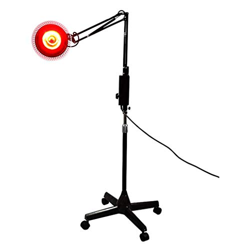 Fantastic Prices! 100W Infrared Lamp Floor Stand Professional Light Powerful with 4 Wheels Far Infra...