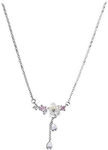 ZGYFJCH Co.,ltd Collares Collar de Moda Collar de Borla Collar de Cadena de clavícula