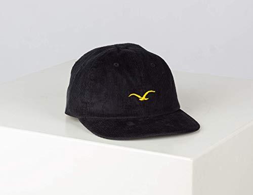 Cleptomanicx Cord Möwe Cap - Black - One Size